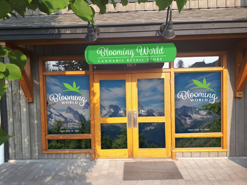 Blooming World Cannabis - Weed Retail Store in Invermere, BC. Serving the Columbia Valley.